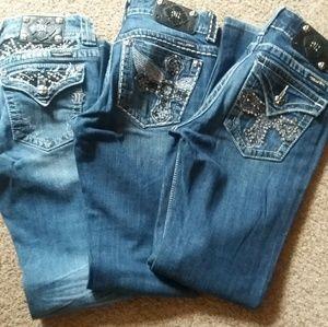 Miss Me jeans bundle!